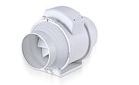Канальный пластиковый вентиляторПВК100