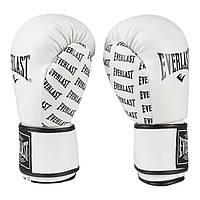 Боксерские перчатки Ever  DX-2218 (8-12 унций, белый), фото 1