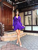 """Женское модное платье  ЛЯ """" Волан """", фото 1"""