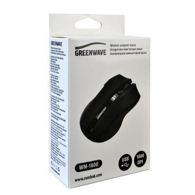 Мышь Greenwave WM-1600 Black (R0015185) .