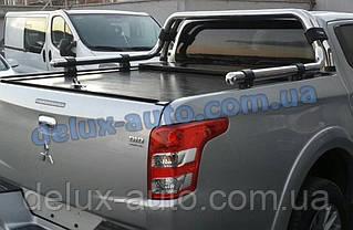Защита кузова Ролл-бар на пикап для Mitsubishi L200 2015+ Задняя дуга в кузов RollBar на Митсубиси л200 2015+