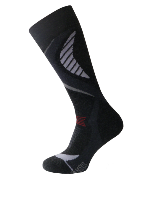 Спортивные лыжные носки Sesto Senso Extreme Ski Sport (original) с шерстью зимние теплые, термоноски SportLavka