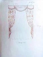 Текстильное оформление дома с.Иванковичи, Киевская обл. 3