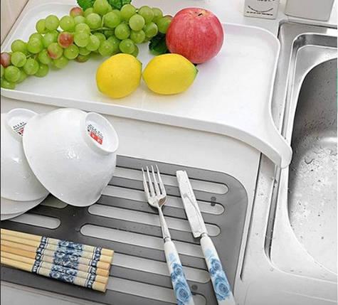 Сушилка для посуды со сливным носиком top-740, фото 2