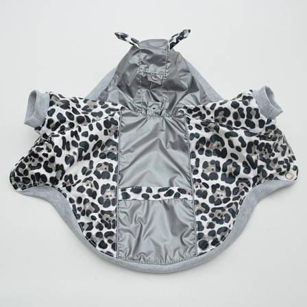 Курточка для собак Лео серый №1 29х46 см, фото 2