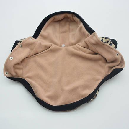 Курточка для собак Лео Коричневый №1 29х46 см, фото 2