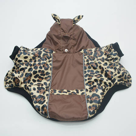 Курточка для собак Лео Коричневый №2 35х54 см, фото 2