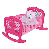 "Кроватка для куклы ТехноК 4524 ""Колыбель"""