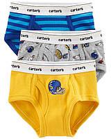 Набор детских трусов 3 шт Картерс для мальчика