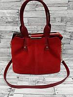 Стильная Женская сумка из натуральной замши. В расцветках.
