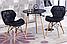 Стул Стар черный с буковыми ножками от SDM Group, экокожа, фото 7