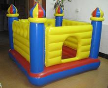 Детский надувной батут для дома и улицы Intex 48259 Замок
