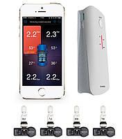 Система контроля давления и температуры в шинах TPMS E31 Bluetooth с усилителем сигнала, Внутренние датчики