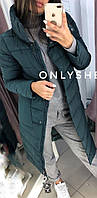 Женское теплое пальто  ЛЯ7259, фото 1