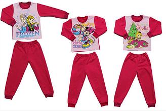Пижама для девочки на байке, Украина, Детки- текс, арт. 0305
