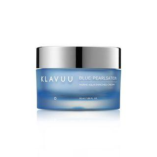 Крем увлажняющий с морским коллагеном Klavuu Blue Pearlsation Marine Aqua Enriched Cream ,50 мл