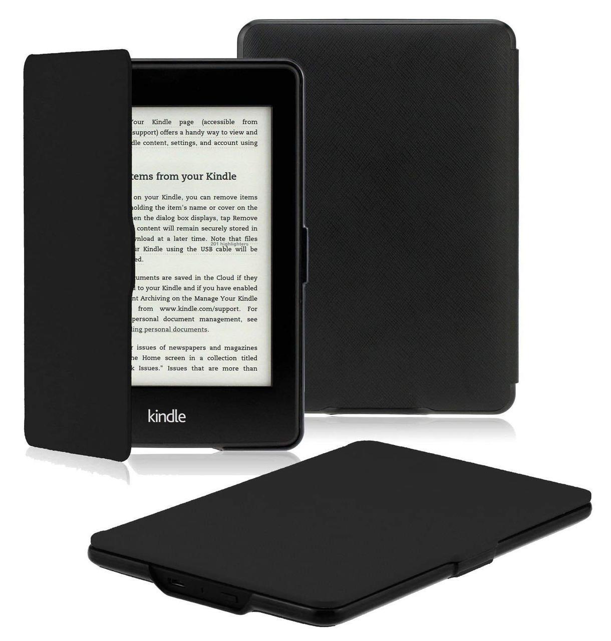 Обложка для Kindle Paperwhite 2018Smart Cove Black