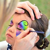 Аквагрим для обличчя на Хелловін, 8 кольорів, грим, Набор красок для лица на хэллоуин, фото 2