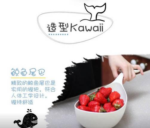 Подставка для фруктов и овощей в виде Кита 1,5 л. top-700, фото 2