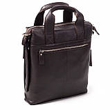 Мужская сумка Eminsa 6038-12-3 кожаная коричневая, фото 3