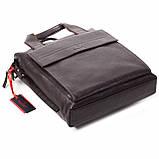 Мужская сумка Eminsa 6038-12-3 кожаная коричневая, фото 4