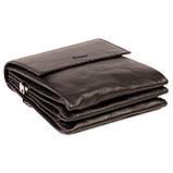 Мужская сумка Karya 0542-45 кожаная черная с плечевым ремнем, фото 4