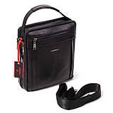 Мужская сумка кожаная черная Eminsa 6135-37-1, фото 4