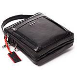 Мужская сумка кожаная черная Eminsa 6135-37-1, фото 5