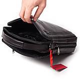 Мужская сумка кожаная черная Eminsa 6135-37-1, фото 8