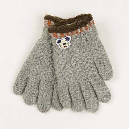 Оптом перчатки для мальчиков и девочек 2-3 года - 19-7-43, фото 2