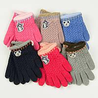 Оптом перчатки для мальчиков и девочек 2-3 года - 19-7-43, фото 1