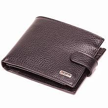 Чоловічий гаманець шкіряний чорний BUTUN 133-004-001