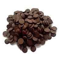 Глазурь кондитерская черная чипсы (1кг)