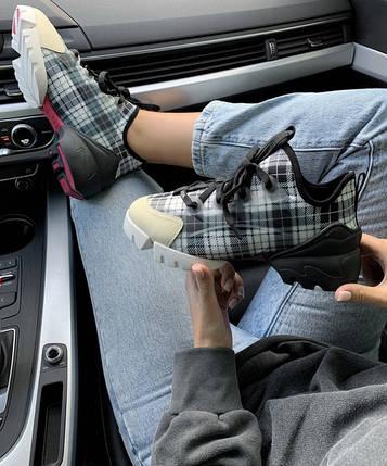 Женские кроссовки Dior D-Connect Sneaker Black/Baige, фото 2