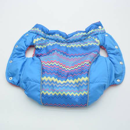 Жилет для собак Орнамент синий №2 35х54 см, фото 2