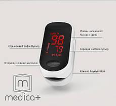 Пульсоксиметр MEDICA+ Cardio control 4.0 (Япония), фото 3
