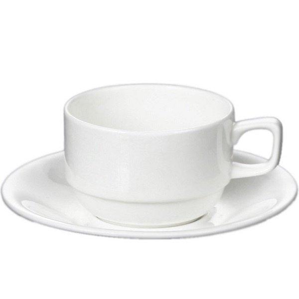 Чашки, кружки, бульйоницы белые