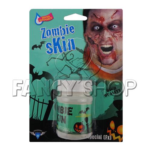 """Грим карнавальний для обличчя """"Zombie Skin"""" на Хелловін, Жидкий латекс на хэллоуин"""