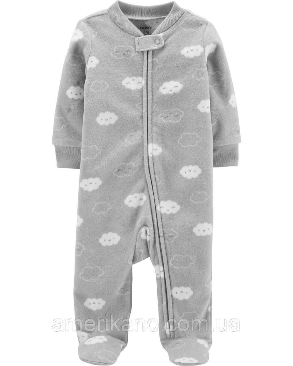 Флисовый человечек поддева Carter´s Sleep & Play Пижама 9М