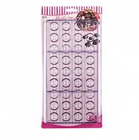 Форма для конфет поликарбонатная Полусфера из 36 шт.