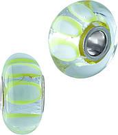 Серебряный шарм SilverBreeze Серебряный шарм SilverBreeze с стеклом Мурано (1967546) SKU_1967546