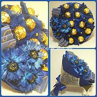 Букет из конфет Васильковое поле
