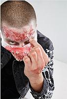 """Грим карнавальний для обличчя """"Zombie Skin"""" на Хелловін, Жидкий латекс на хэллоуин, фото 2"""