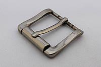 Пряжка ременная, ширина - 40 мм, цвет - никель, артикул СК 5540