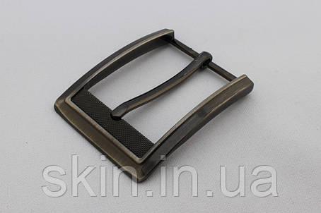 Пряжка ременная, ширина - 35 мм, цвет - черный, артикул СК 5543, фото 2