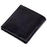 Зажим для денег кожаный черный Karya 0940-45, фото 2