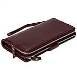 Женский клатч кожаный бордовый BUTUN 022-004-002, фото 3