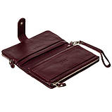 Женский клатч кожаный бордовый BUTUN 022-004-002, фото 5