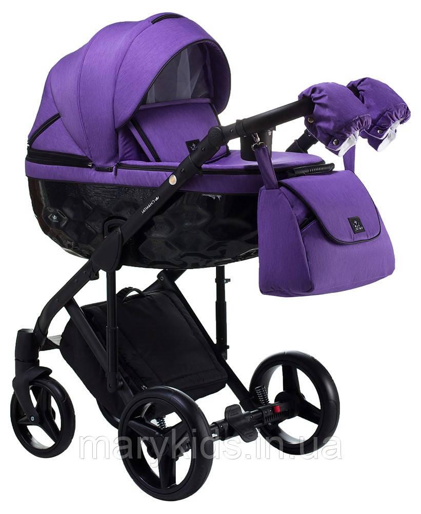 Детская универсальная коляска 2 в 1 Adamex Chantal C214