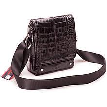 Чоловіча сумка шкіряна чорна Eminsa 6070-4-1